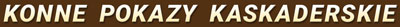 Konne pokazy kaskaderskie Logo